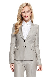 'Jaellita' | Stretch Wool-Blend Blazer