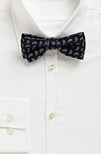 'Bow Tie Fashion' | Silk Striped Bow Tie