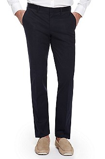 'Genesis' | Slim Fit, Cotton-Blend Dress Pant