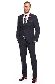 'Hooward/Court' | Modern Fit, Virgin Wool Suit