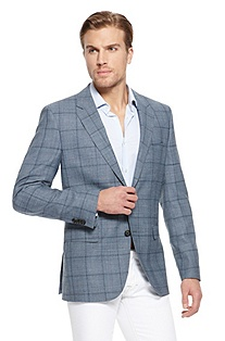 'The James' | Modern Fit, Wool-Linen Sport Coat