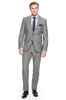 'James/Sharp' | Modern Fit, Virgin Wool Suit