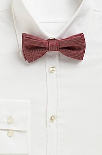 'Bow Tie Fashion' | Silk Polka Dot Bow Tie