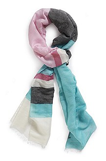 'Woman' | Wool-Silk Scarf