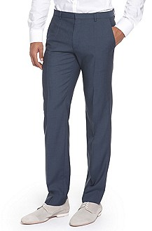 'Heise' | Slim Fit, Virgin Wool Dress Pant