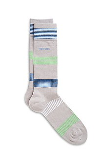 'RS Design US' | Cotton-Blend Blocked Stripe Socks