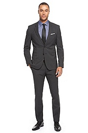 'Ryan/Win' | Extra Slim Fit, Virgin Wool Blend Suit