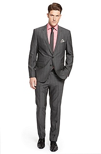 'Sweet/Sharp' | Modern Fit, Virgin Wool Suit