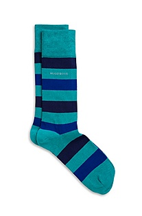 'RS Design US' | Cotton-Blend Bold Stripe Socks