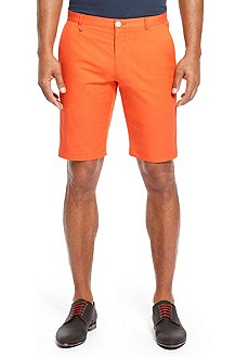 'Hano' | Slim Fit Stretch Cotton Shorts