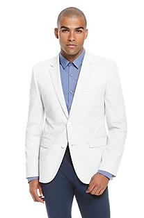 'Aeris' | Slim Fit, Stretch Cotton Sport Coat