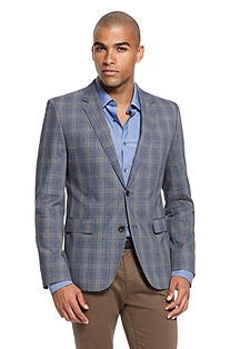 'Aeris' | Slim Fit, Cotton Sport Coat
