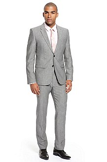'Aeron/Hamen' | Extra Slim Fit, Wool Linen Suit