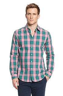 'Bugsville' | Cotton Check Casual Shirt