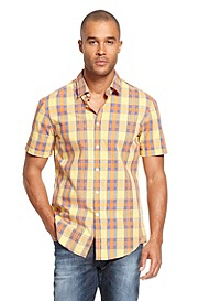 'Bastiano' | Cotton Check Casual Shirt