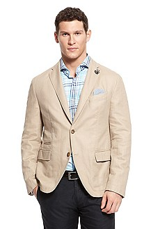 'Maldon' | Slim Fit, Cotton-Linen Sport Coat