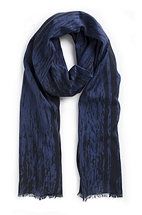 'Men Z' | Cotton-Blend Scarf