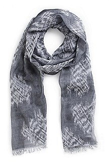 'Men-Z 392' | Cotton Printed Scarf