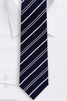 '8 cm Tie' | Regular, Silk Diagonal Stripe