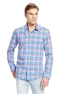 'Lucas' | Regular Fit, Cotton Casual Shirt