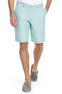 'Clyde 1-5-W' | Regular Fit, Cotton  Shorts
