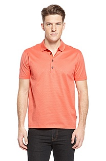 'Bugnara' | Regular Fit, Cotton Polo Shirt