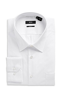 'Enzone' | Big Fit, Spread Collar Dress Shirt