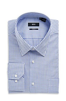 'Enzone' | Big Fit, Point Collar Dress Shirt