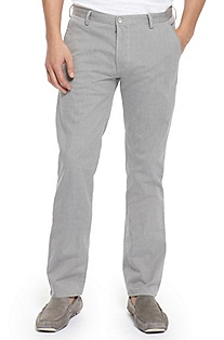 'Rice' | Slim Fit, Stretch Cotton-Blend Pants