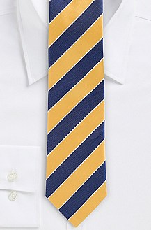'7.5 cm Tie' | Slim, Silk Wide Diagonal Stripe