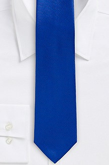 '7.5 cm Tie' | Slim, Silk Mini Gingham Print