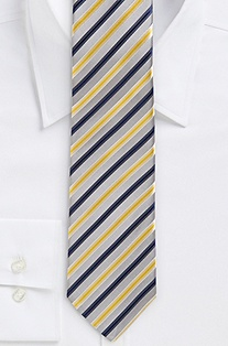 '7.5 cm Tie' | Silk Patterned