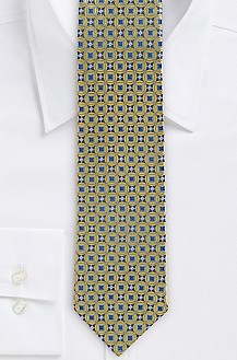 '7.5 cm Tie' | Slim, Silk Patterned
