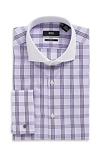 'Maccoy US' | Modern Fit, Cotton Dress Shirt