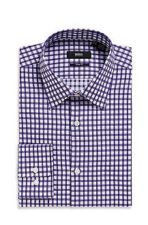 'Marlow US' | Sharp Fit, Spread Collar Cotton Dress Shirt