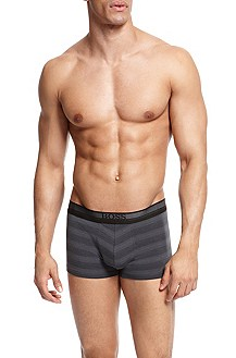 'Boxer BM' | Cotton-Modal Striped Boxer