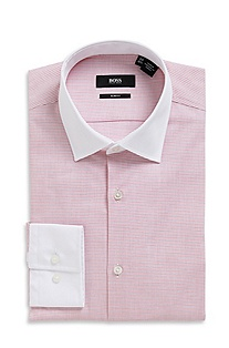 'Jonne ' | Slim Fit, Cotton Dress Shirt