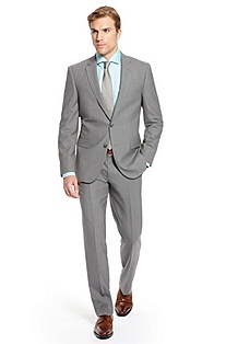 'Howard/Court' | Slim Fit, Virgin Wool Suit