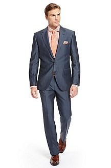 'Sivert/State' | Classic Fit, Wool-Silk-Blend Suit