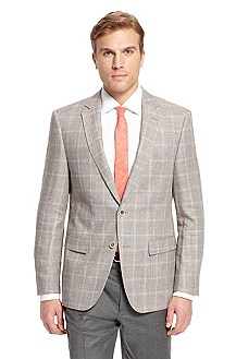 'Howard ' | Modern Fit, Linen-Wool Sport Coat