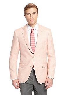 'Halson' | Modern Fit, Wool-Linen Sport Coat