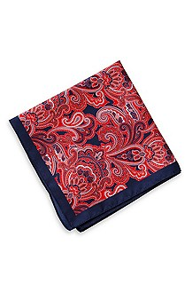 'Pocket Square ' | Silk  Printed Pocket Square