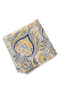 'Pocket Square' | Silk Printed Pocket Square