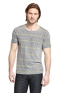 'Terciero' | Cotton-Blend Striped T-Shirt