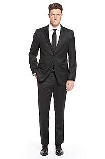 ''The James/Sharp' | Modern Fit, Virgin Wool Suit