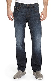 'Kansas' | Regular Fit, Stretch Cotton Jeans