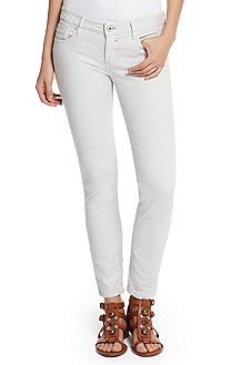 'Lunja 1' | Stretch Cotton Capri Jeans