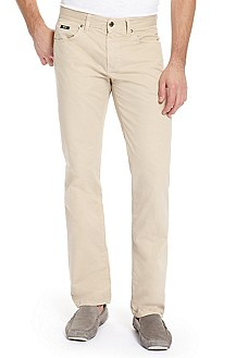 'Kansas-10' | Regular Fit, Cotton Straight Leg Jean
