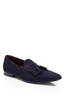 'Hido' | Suede Loafer with Tassels