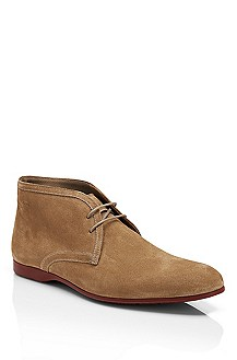 'Sortion' | Suede Lace-Up Chukka Boot